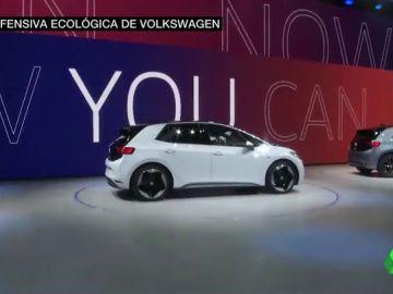 La ofensiva ecocológica de Volkswagen: presentan su primer coche totalmente eléctrico