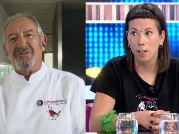 Karlos Arguiñano y Fanny, de 'Almas Veganas'