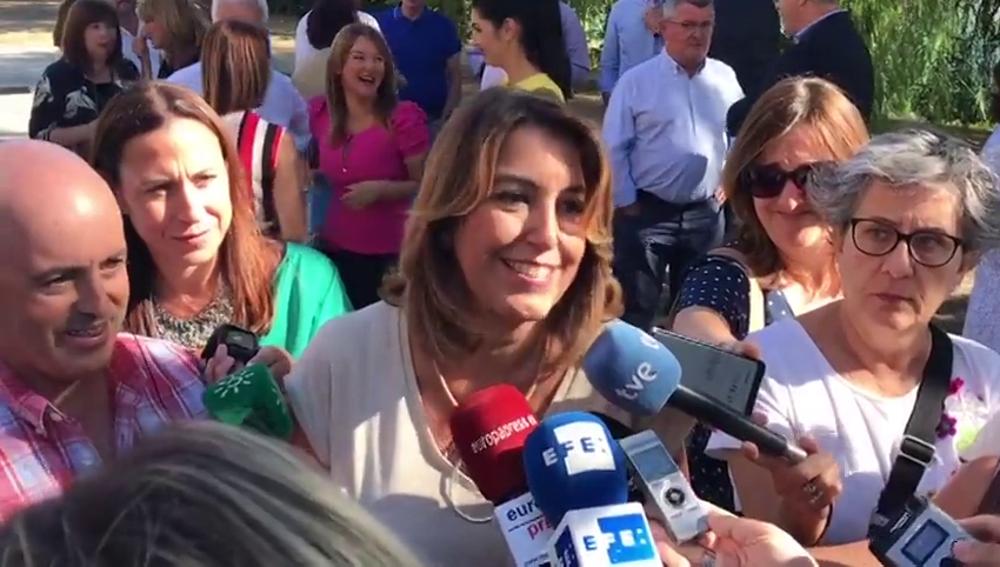 Susana Díaz anuncia que está embarazada de una niña