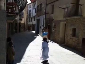La historia de Sor Elsa, la monja torera que corre los encierros