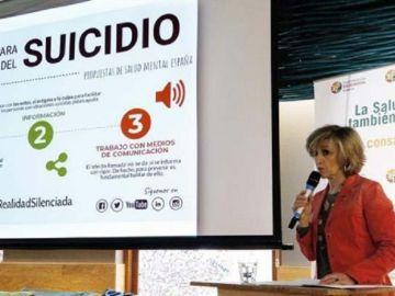 María Luisa Carcedo, ministra de Sanidad, presenta las propuestas para la prevención del suicidio