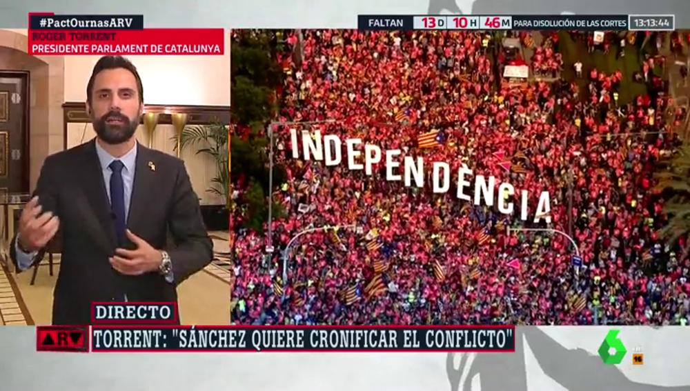 """Roger Torrent, sobre el juicio del 'procés': """"Si hay una sentencia condenatoria, la ruptura con Cataluña va a ser más profunda"""""""