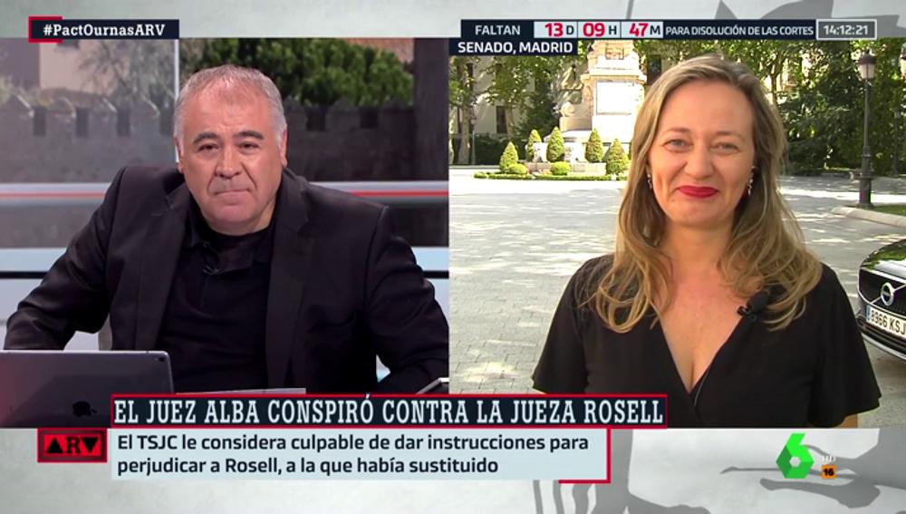 """Victoria Rosell: """"Se ha probado que un ministro y un juez alteraron la composición del Congreso con cloacas"""""""