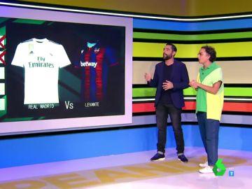 ¿Qué equipo de fútbol tiene la camiseta más bonita?: Esta es la 'quiniela' de Josie en Zapeando