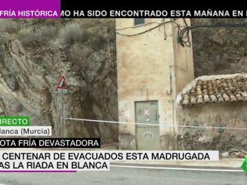 """Peligro en Blanca a causa de la gota fría: """"Hay riesgos de desprendimientos"""""""