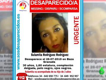 Sulamita Rodríguez Rodríguez, desaparecida en Baza