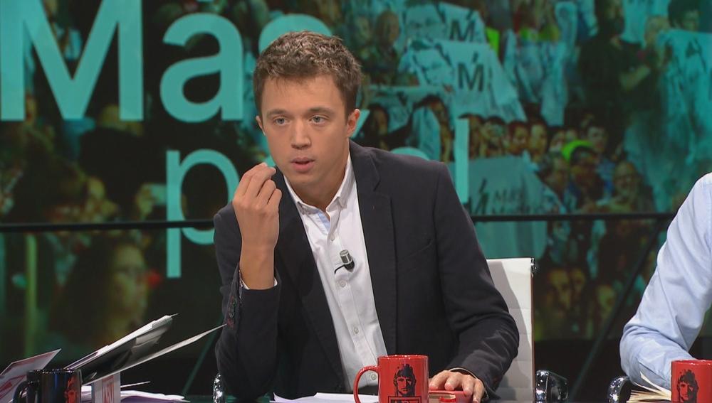 Íñigo Errejón responde Antonio García Ferreras en Al Rojo Vivo
