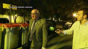 """El juez Yusty Bastarreche no quiere hablar de Franco: """"No debo comentar lo que dicen mis jefes"""""""