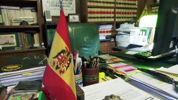 Despacho del abogado que presentó el recurso contra la exhumación de Franco