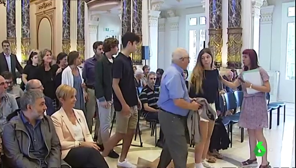 El Ayuntamiento de San Sebastián homenajea al concejal de Herri Batasuna, Tomás Alba, asesinado hace 40 años