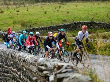 Momento de la prueba de ruta del Mundial de Ciclismo 2019