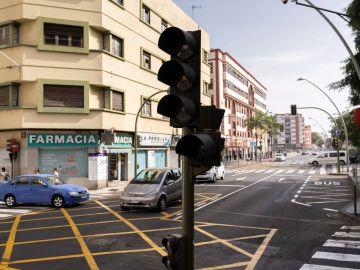 Dificultades en la circulación en Santa Cruz de Tenerife