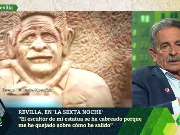 """Miguel Ángel Revilla, sobre su estatua: """"Aspiro a que sea como el Ecce Homo de Borja"""""""