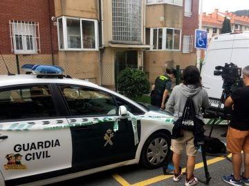 La Guardia Civil registra la casa de la detenida en relación con el cráneo encontrado en una caja (Archivo)