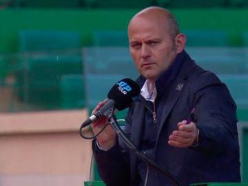 Gianluca Moscarella, juez de silla de la ATP
