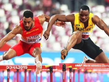 Orlando Ortega y McLeod, durante la final