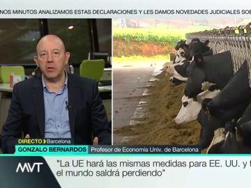 """Gonzalo Bernardos: """"La UE tomará las mismas medidas que Estados Unidos y todos saldremos perdiendo"""""""
