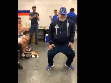 Maradona y su baile de la alegría