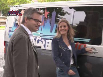 'Aguirre Tour': Andrea Ropero recorre la trayectoria de Esperanza Aguirre hasta acabar en la Audiencia Nacional