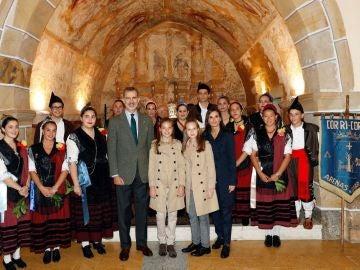 La Familia Real visita Asiegu
