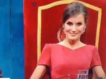 La reina Leticia en los Princesa de Asturias