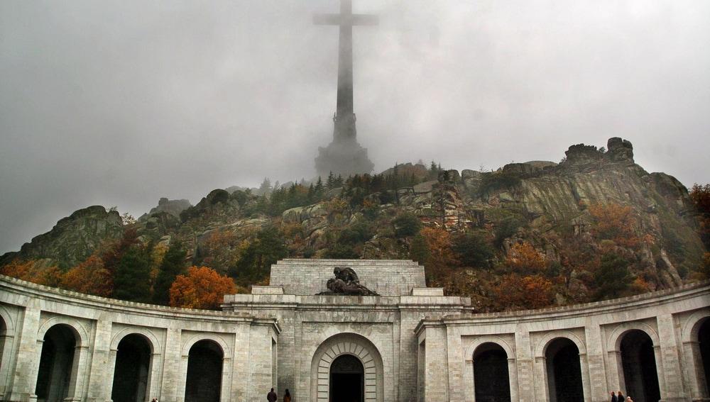 Vista general del Valle de los Caídos