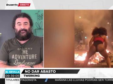 El análisis de El Sevilla sobre el 'twerking' como forma de protesta en Barcelona