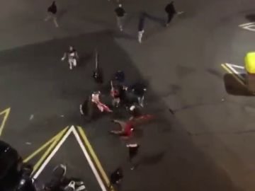 Prisión para los dos ultras que apalearon a un manifestante independentista