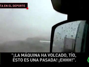 Un tornado causa estragos en Ibiza: así han quedado las instalaciones deportivas