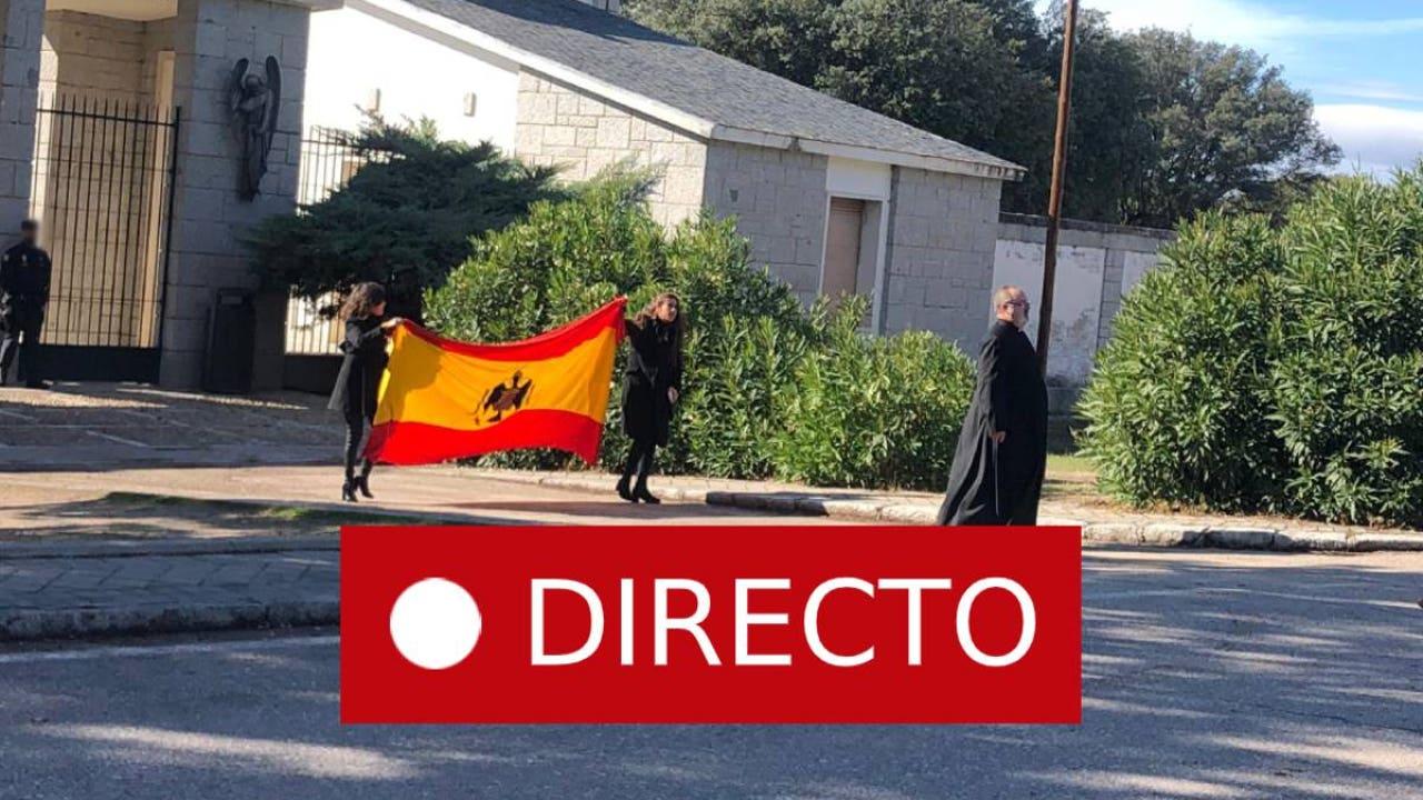 Franco, la última hora sobre la exhumación EN DIRECTO