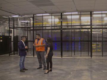 'La nube' existe, y está en EEUU: así es el interior del edificio en el que se almacenan muchos de los datos que circulan en Internet