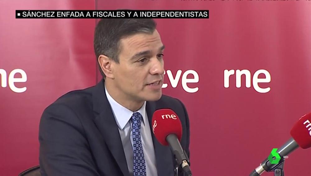 Sánchez insinúa que la Fiscalía depende del Gobierno para asegurar que traerá a Puigdemont