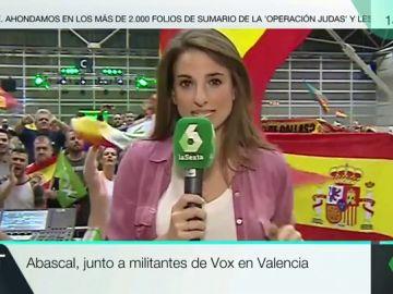 La periodista de laSexta Ángela Vera