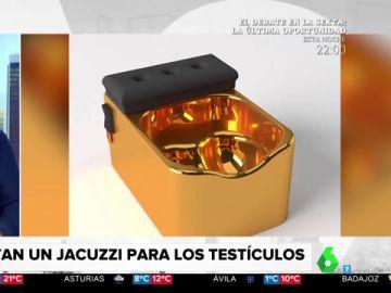 El jacuzzi para relajar los testículos existe y se llama 'Testicuzzi'