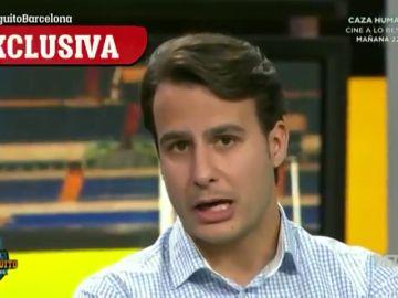 """Exclusiva 'El Chiringuito': el delantero de talla mundial por el que el Barça está """"muy interesado"""""""