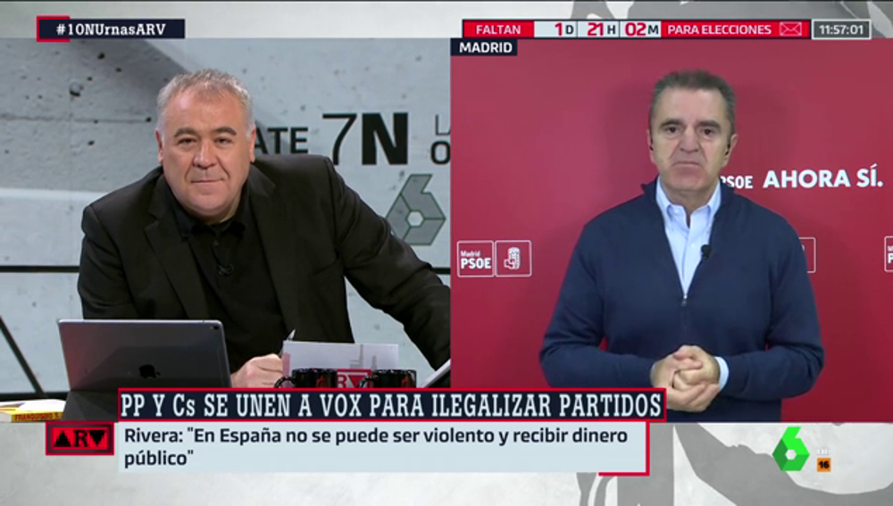 José Manuel Franco, en Al Rojo Vivo