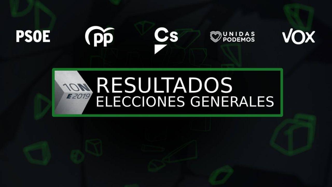 Resultados de las elecciones generales 10-N en la localidad de Huércanos