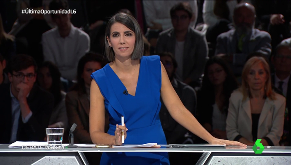Ana Pastor en el debate 7N