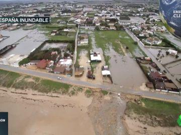 Este es el mapa de la España inundable