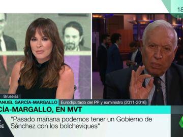 """García-Margallo: """"Pasado mañana podemos tener un Gobierno de Sánchez con los bolcheviques"""""""