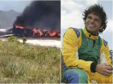El expiloto Tuka Rocha, herido en un accidente mortal de avión