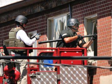 Imagen de archivo de un registro policial en EEUU