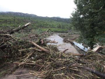 Imagen de archivo de las zonas de Tarragona afectadas por el temporal