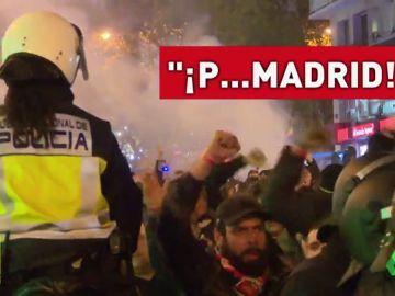 Así fue el espectacular despliegue de la policía para contener a los ultras del PSG