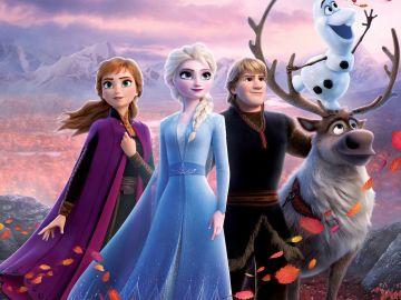 Cartel promocional de la película Frozen II