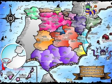 """Mapa del proyecto """"El camino de piEFcitos"""""""