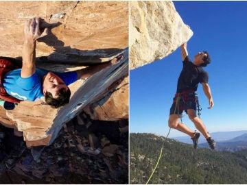 El escalador Brad Gobright