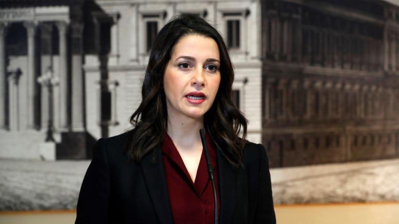 La portavoz de Ciudadanos, Inés Arrimadas (Archivo)
