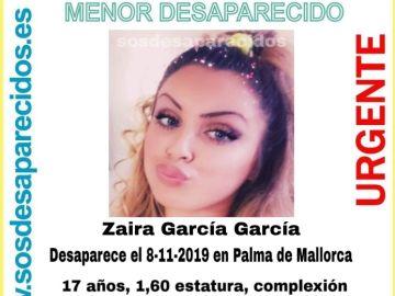 Menor desaparecida en Palma