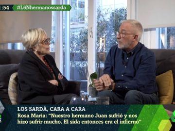 Xavier Sardà y Rosa María Sardà